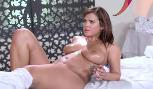 Keisha Grey anally fisted by sexy milf babe Ava Addams
