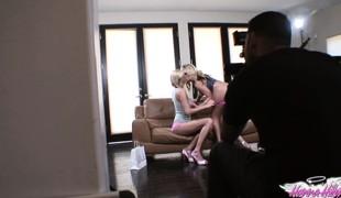 synspunkt blonde lesbisk fetish striptease