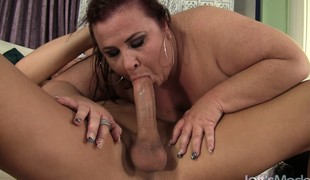 Humongous girl acquires drilled hard and damn near can't take it
