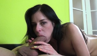 Ria and Barbie get turned on and play with a couple of hot guys