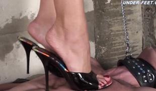 russisk fetish femdom foot fetish