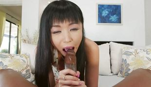 brunette anal blowjob ridning asiatisk cowgirl doggystyle puling sucking