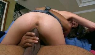 amatør tenåring brunette anal stor rumpe hardcore deepthroat blowjob sædsprut facial