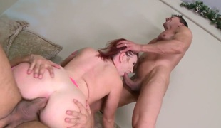 Toni Ribas is one hard-dicked stud who can't live without banging in her anal hole