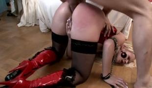 anal hardcore dildo leketøy maskin knulling doggystyle hd gaping fisting
