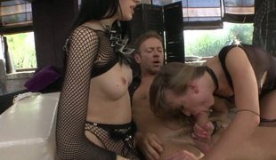 Michelle R gets her ass butthole fucked by Rocco Siffredi for your viewing pleasure after she gets her face hole fucked