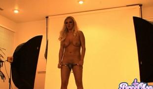 blonde store pupper pornostjerne fetish striptease