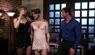 femdom rett hd blowjob lingerie