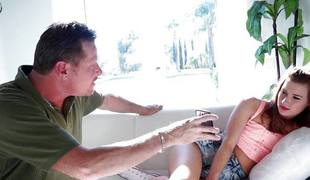 Alaina Dawson fucked by her stepdad