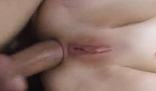 anal babe blonde hardcore blowjob ass små pupper nærhet