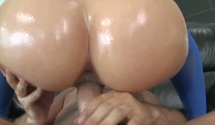 Keiran Lee loves always wet warm fuck hole of Anikka Albrite after this babe gets her fudge packed