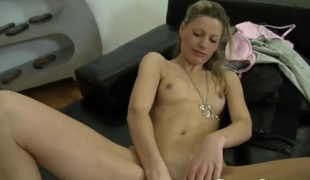 Rocco Siffredi touches the hottest parts of dangerously sexy Silvia As body before he bangs her snatch