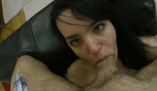 Rocco Siffredi gets his always hard ram rod eaten by Roxy C