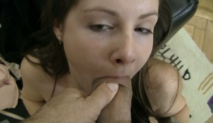 tenåring sjarmerende vakker pornostjerne blowjob stor kuk rimjob