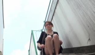 offentlig fetish japansk voyeur