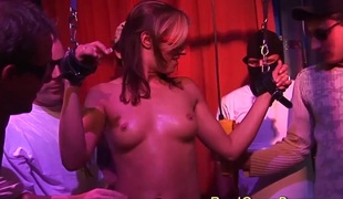 Horny busty german babes first bukkake groupsex ganbang fuck party fuckfest
