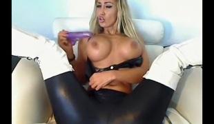 blonde store pupper onani tysk webkamera