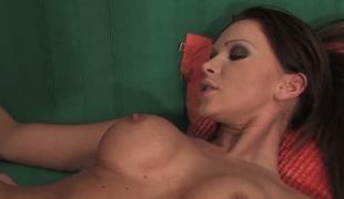 Christina Bella has solely sex on her mind and that babe fucks like a pro