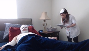 Lewd Patient Gets Healed By A Naughty Non-professional Nurse