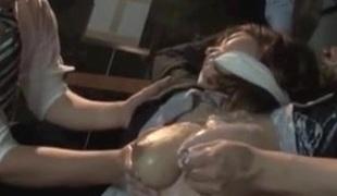strømper japansk gruppesex brystvorter rett