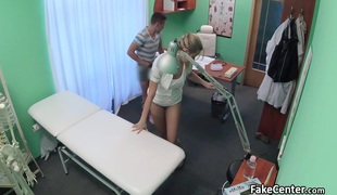 Nurse watch hot couple fucking