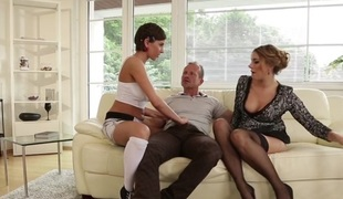 Anabelle & Ani Blackfox in Mom And Daddy Are Fucking My Friends #19 - DogHouseDigital