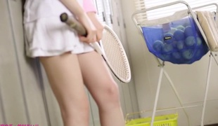 Eager Japanese model Airi Suzumura in Hottest face sitting, changing room JAV movie