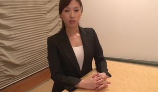 Fantastic Japanese doxy Anna Noma in Exotic cougar, pov JAV video
