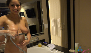 Nina North in Virtual Vacation Video - AtkGirlfriends