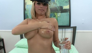 Busty blonde Cassie Rose Gives The Most good Titty Fuck